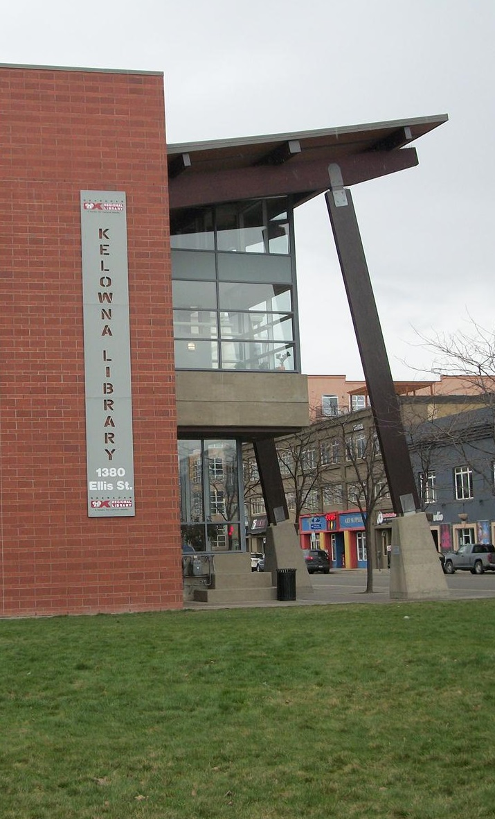 Okanagan Regional Library - Kelowna Branch - side building